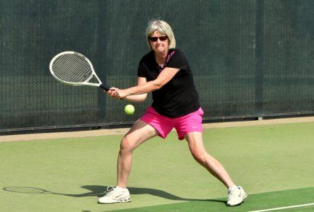 Les terrains de tennis sont accessibles à Baie-Saint-Paul