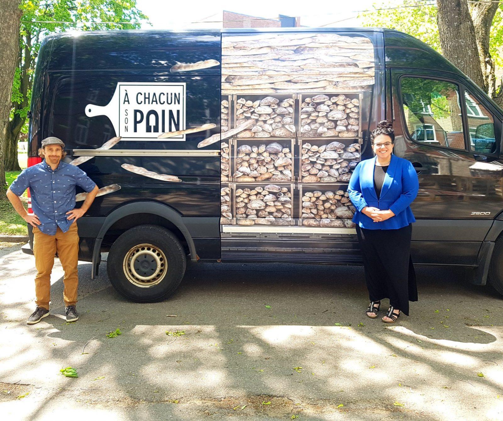 Une aide financière de 150 000 $ à la Boulangerie À Chacun Son Pain
