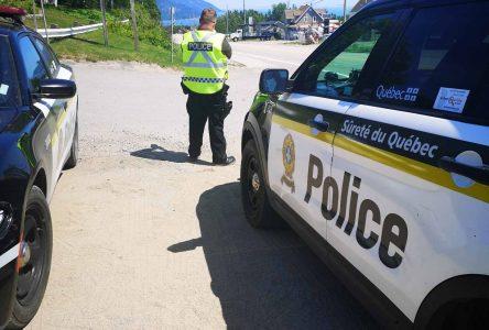 Des automobilistes surveillés dans Charlevoix-Est