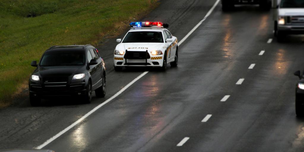 874$ d'amende pour un excès de vitesse à Baie-Saint-Paul