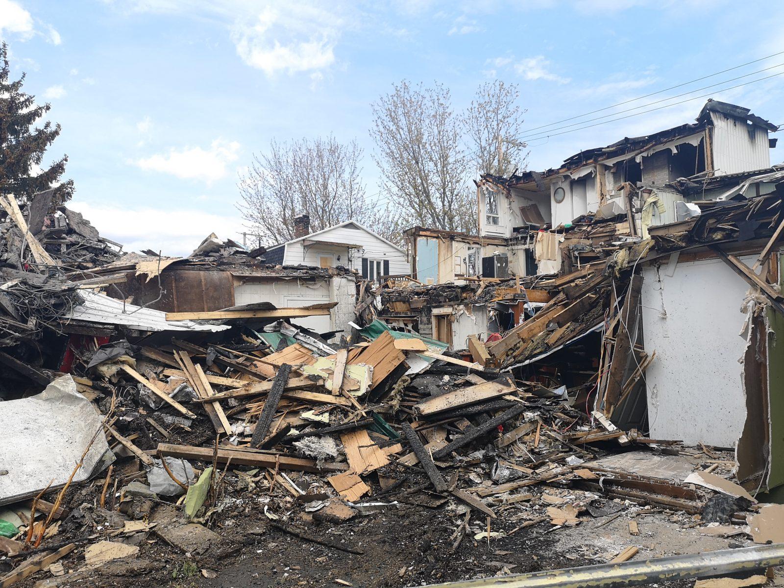 Incendie de l'hôtel Hovington : le blessé grave s'en est sorti