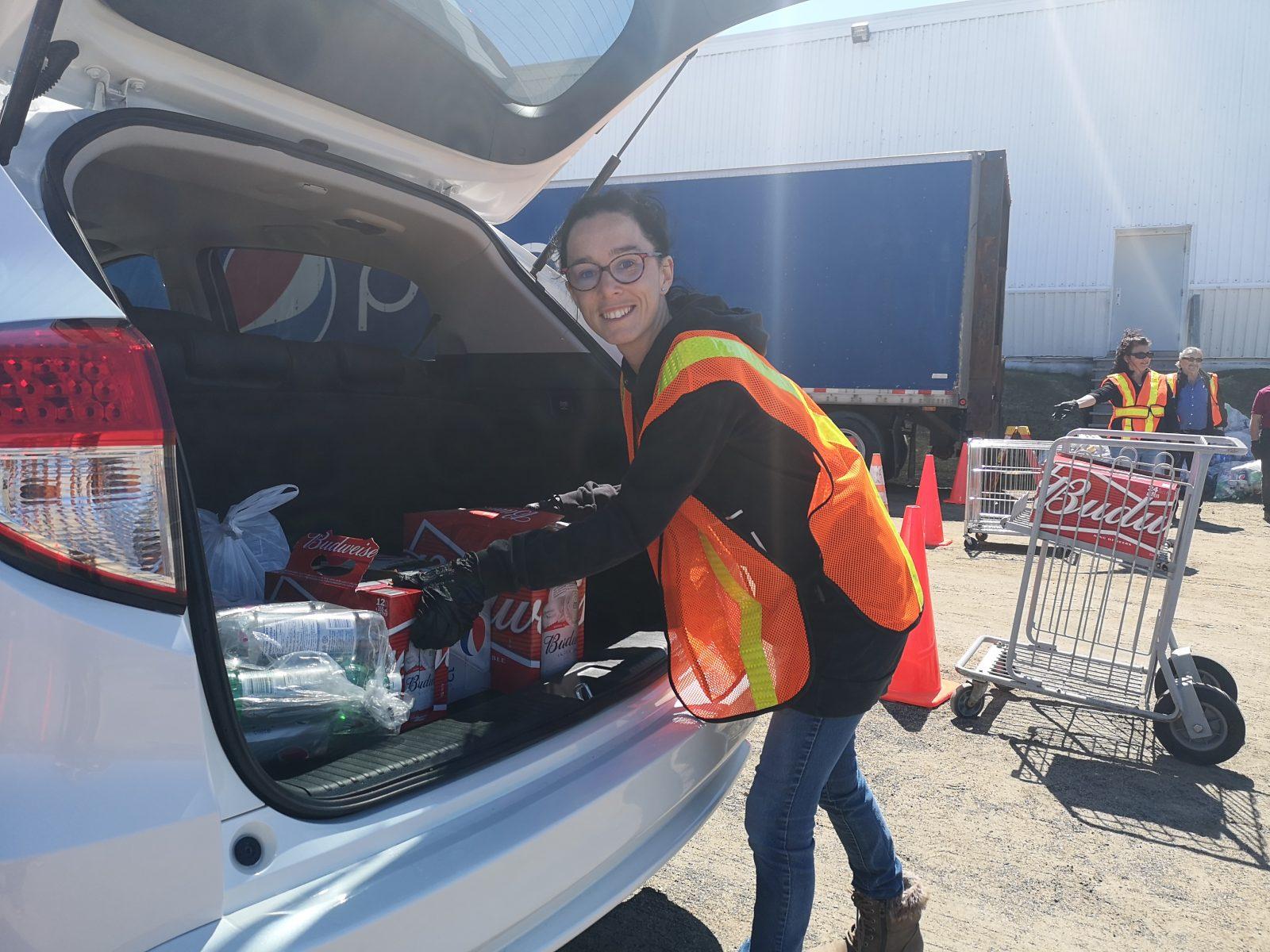 9 000 $ ont été récoltés grâce aux collectes de bouteilles à Clermont