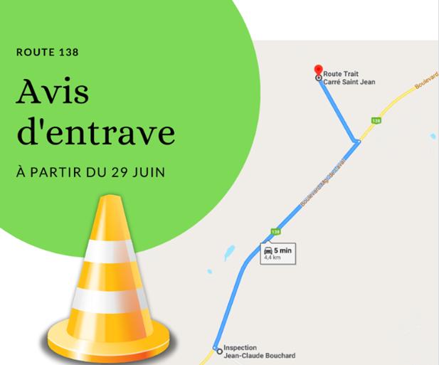 Des travaux commenceront le 29 juin sur le boulevard Mgr-de-Laval