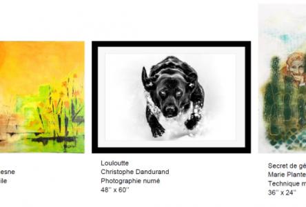 Le Carrefour culturel Paul-Médéric présente trois nouvelles expositions