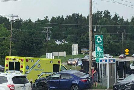 Accident à Baie-Saint-Paul: un constat sera remis au conducteur fautif