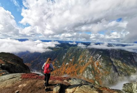 Achalandage record sur les sentiers dans Charlevoix