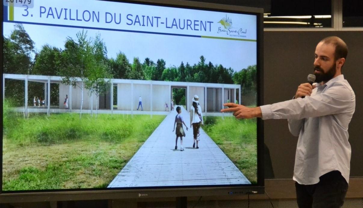 Le Pavillon St-Laurent est revu à la baisse