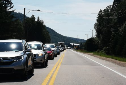 Des délais d'attente importants à Baie-Saint-Paul en raison des travaux