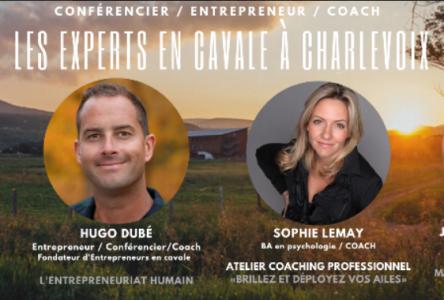10 entrepreneurs viendront dans Charlevoix grâce à «Entrepreneurs en Cavale »