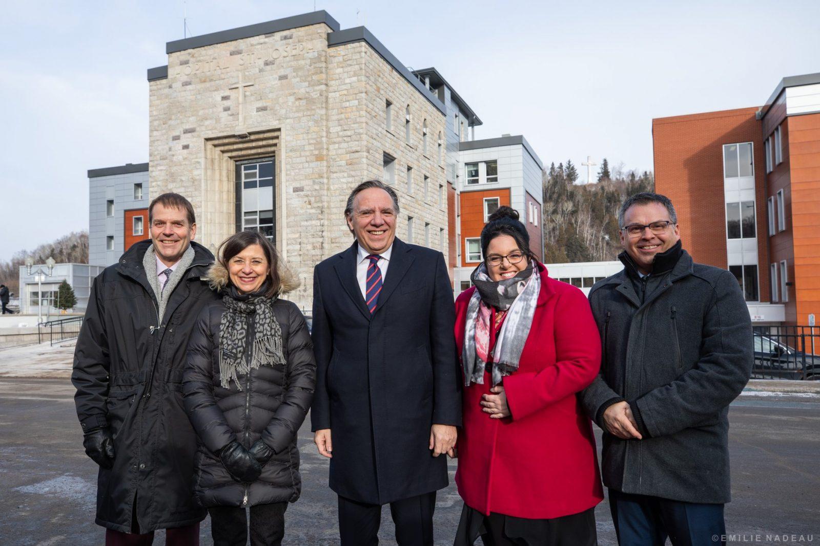 Projet de loi 66: deux chantiers accélérés dans Charlevoix annonce la députée