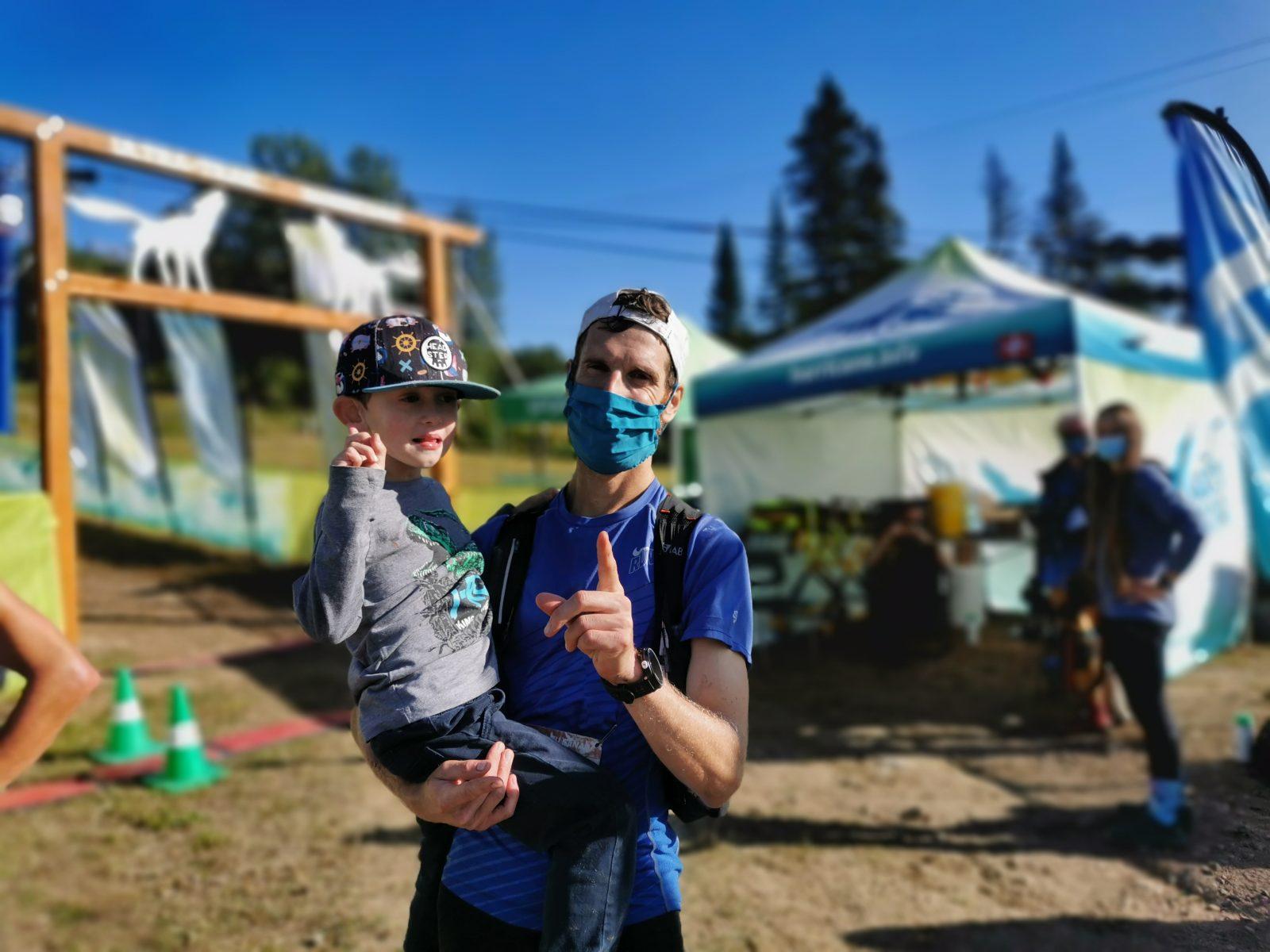 David Savard Gagnon remporte le 125 km de l'Ultra-Trail Harricana