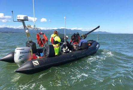 Les plongeurs d'épaves techniques ont fait de nouvelles découvertes