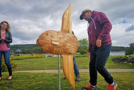 Un poisson-lune grandeur nature prendra place au Quai Casgrain dès l'été 2021