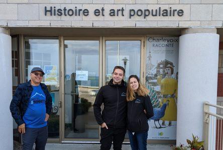 Le Défi des 5 sommets a maintenant son exposition au Musée de Charlevoix