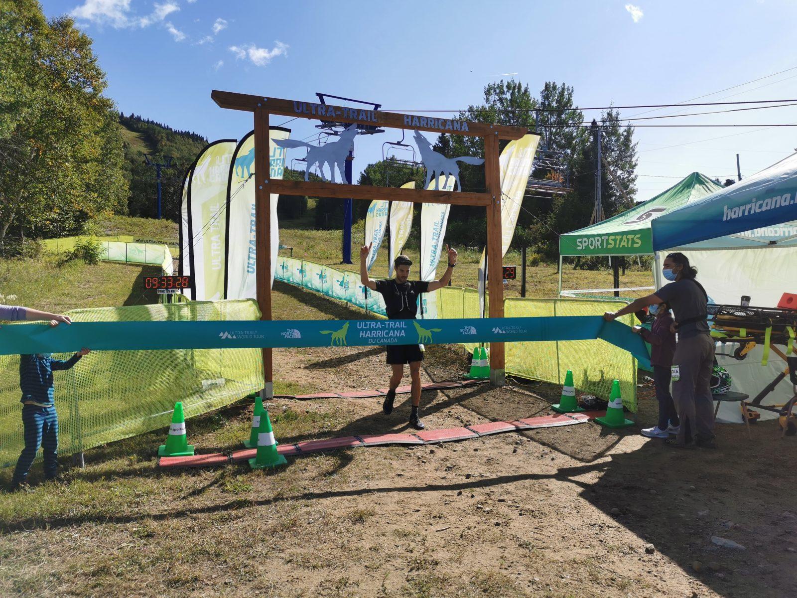 Ultra-Trail Harricana Canada : Martin Dagenais est le gagnant du 65 kilomètres