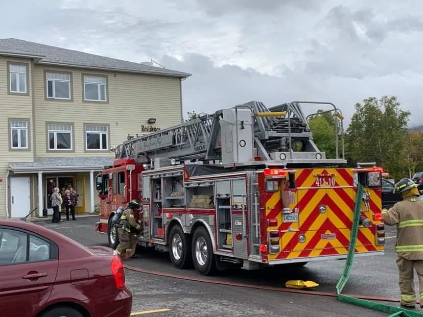 (Photos) Évacuation d'une résidence de Baie-Saint-Paul