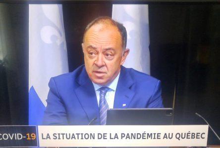 COVID-19 : un point de contrôle routier à Tadoussac dès vendredi après-midi