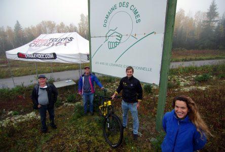Un centre régional pour le vélo de montagne au Domaine des Cimes