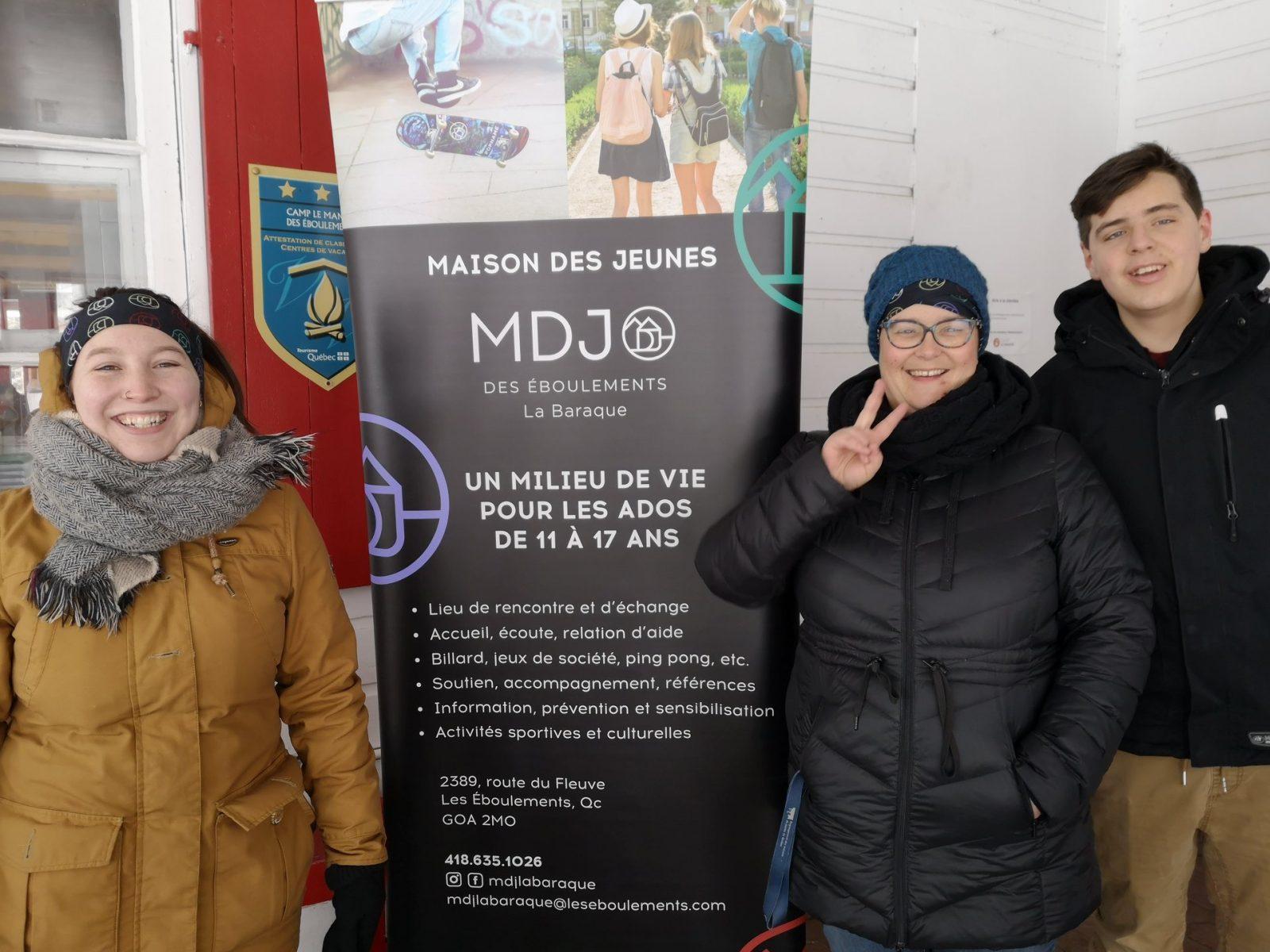 Les maisons des jeunes demeurent ouvertes dans Charlevoix