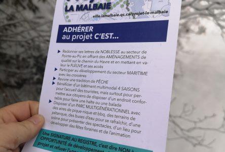 Projet La Malbaie : la Ville joue la carte des communications