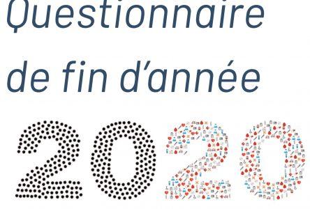 Questionnaire 2020