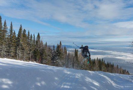 Les skieurs en profitent malgré le peu de neige
