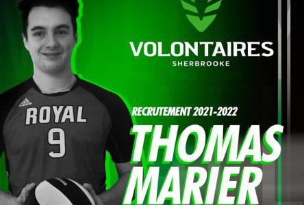 Les Volontaires du Cégep de Sherbrooke choisissent Thomas Marier
