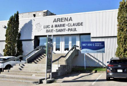 L'aréna de Baie-Saint-Paul fermera après la semaine de relâche et deviendra une clinique de vaccination