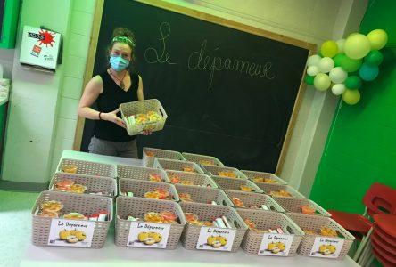 Des collations sont offertes au Centre éducatif Saint-Aubin